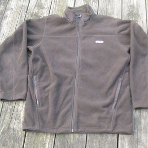 Patagonia Brown Synchilla Fleece Jacket M Full Zip